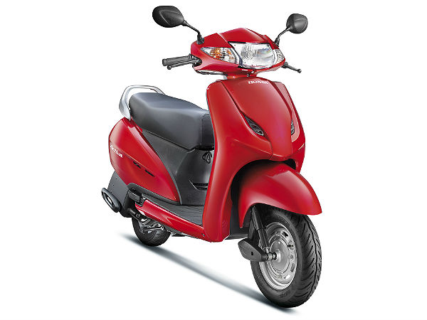 honda activa achieves pole position in india