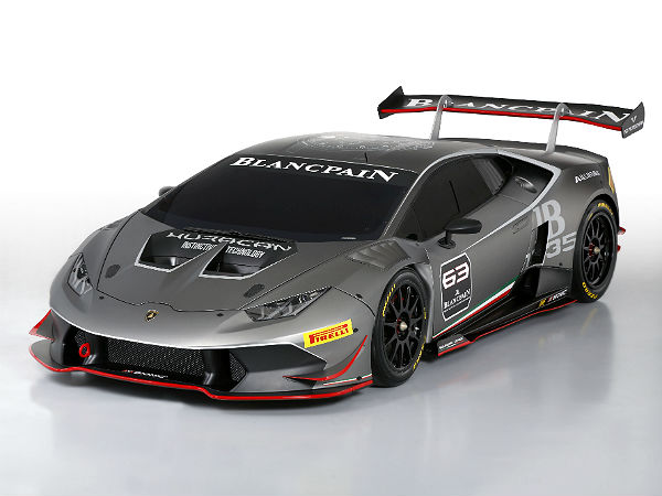 lamborghini launch their latest race car