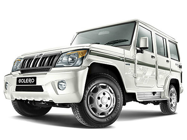 mahindra bolero best selling UV in india