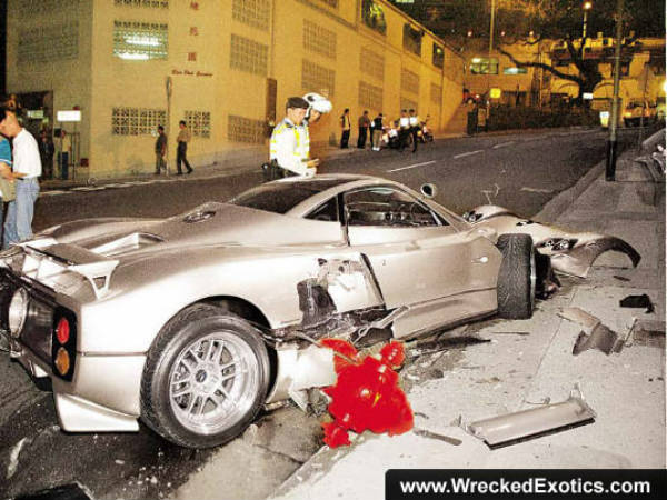 Top 10 Most Expensive Car Crashes Ever Drivespark