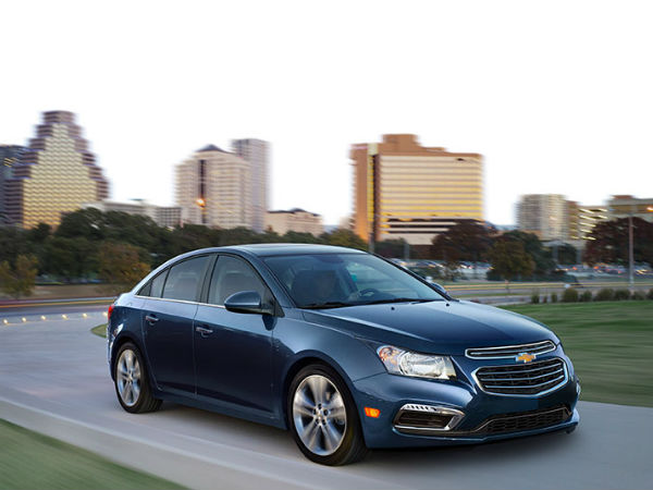 2015 chevrolet cruze launched