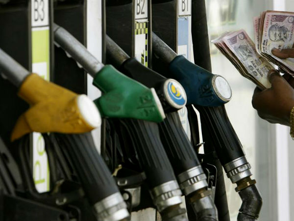 petrol prices fall again