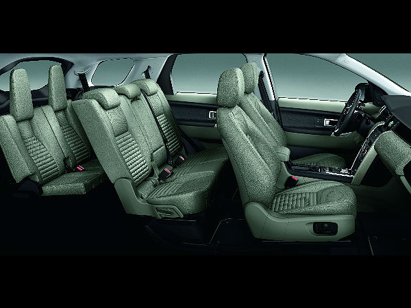 Land Rover Discovery Sport: 5+2 Seating