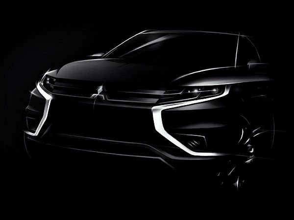 mitsubishi to reveal outlander phev concept s soon
