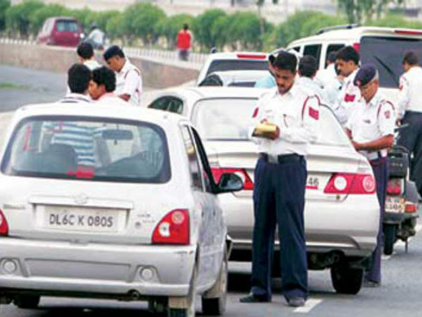 driver credential check by delhi police
