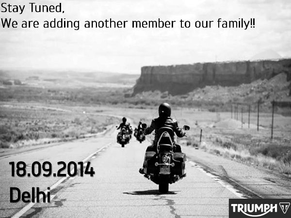 triumph india launching new motorcycle