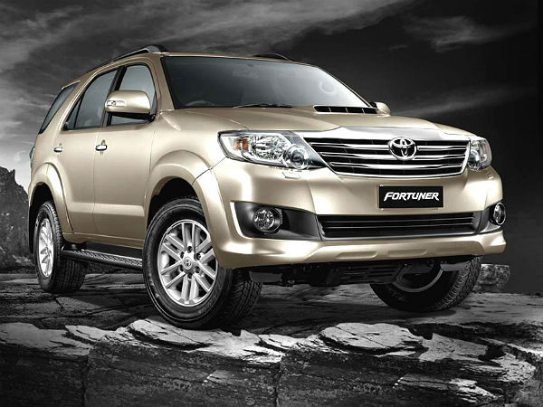 toyota fortuner is a bestseller