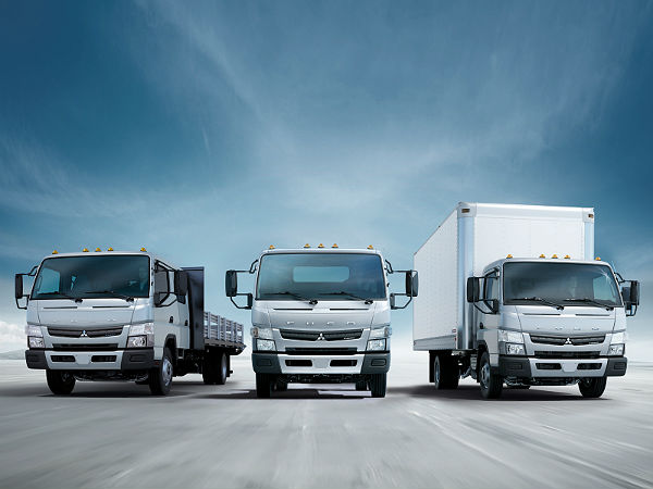 fuso trucks built in india launched in indonesia