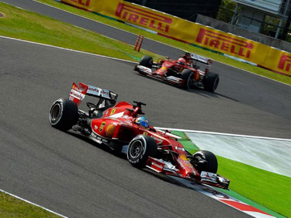 2014 Formula One Japanese qualifying result