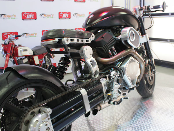 bike festival of india dhoni's hell cat