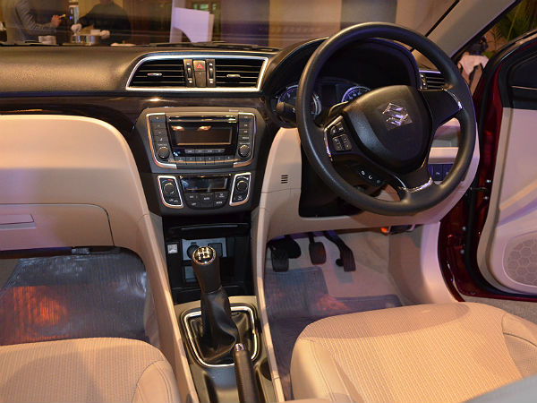 maruti suzuki ciaz launched price specs features more drivespark news. Black Bedroom Furniture Sets. Home Design Ideas