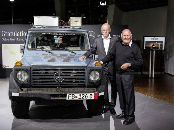 G-Class Act: Around The World In 26 Years