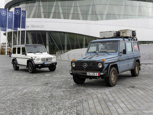 mercedes benz celebrate 35 years of g class