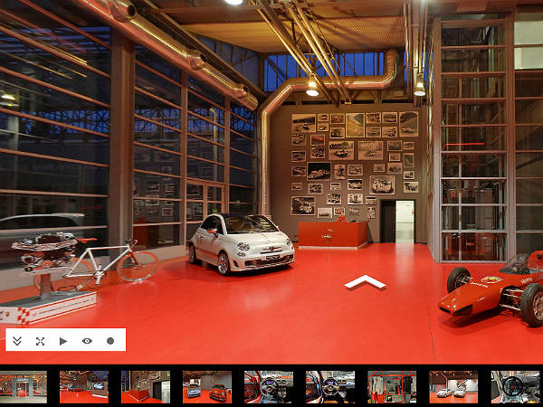 abarth virtual tour released