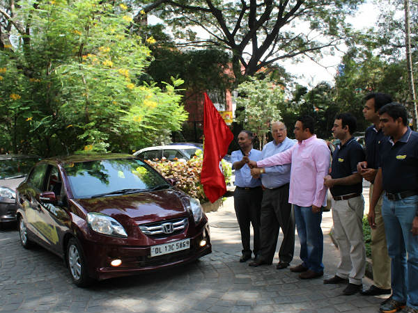 honda amaze longest drive through india