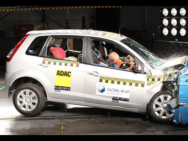 Indian Cars To Finally Be Subject To Crash Safety Tests