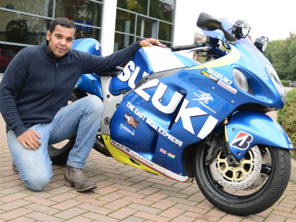 indian to ride from uk to india