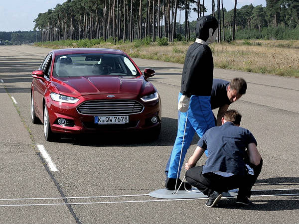 ford auto braking for pedestrians