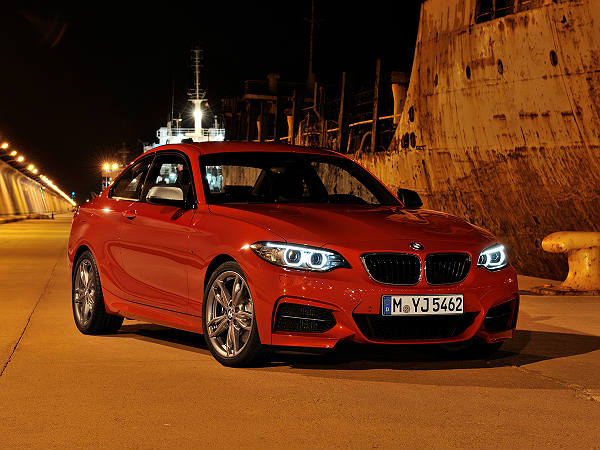 bmw m2 coupe global launch