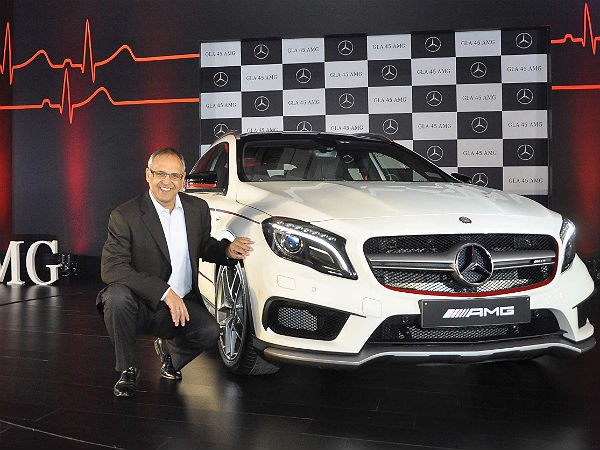 mercedes-benz gla 45 amg 4matic launched