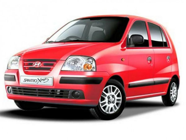 Hyundai To End Production Of Santro In India Drivespark News