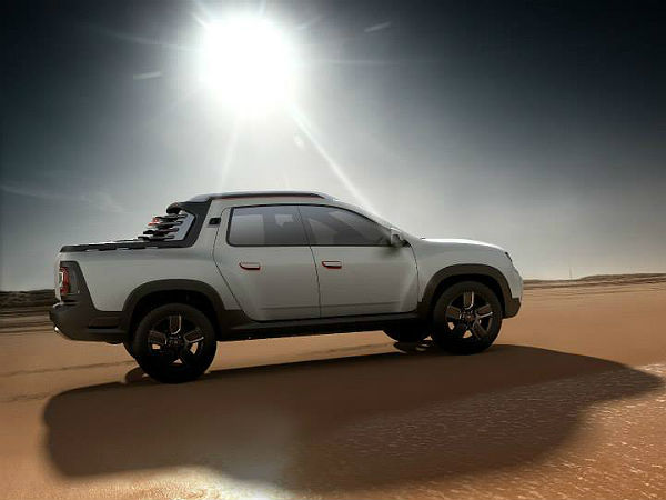Renault Duster Oroch Pick-up Truck