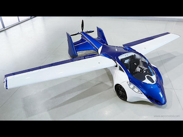 AeroMobil flying car features