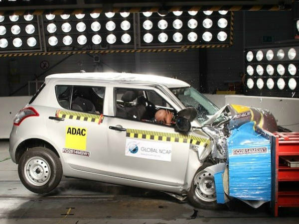 indian car crash test