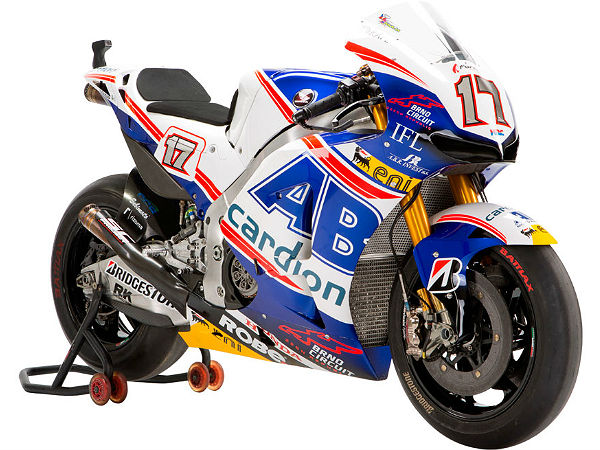 motogp bike suspension