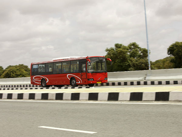 thane volvo 8400 bus