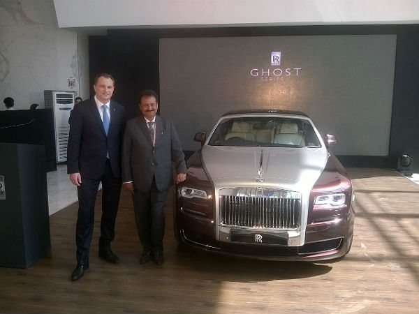 rolls-royce ghost series 2 price