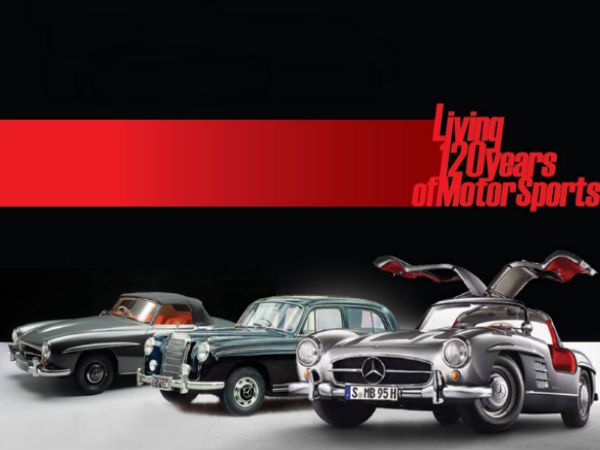 mercedes-benz classic car rally