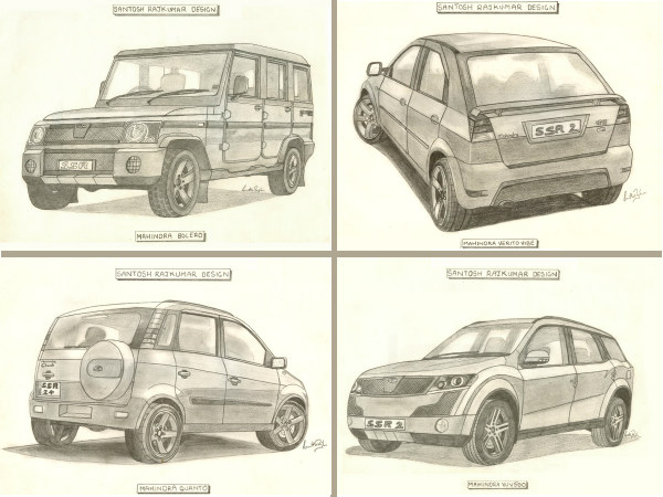 Illustration Special: 5 Sketches Mahindra Must See