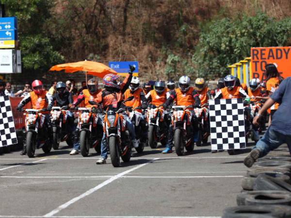 Ktm Orange Day Mumbai