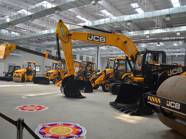 jcb manufacturing plants india