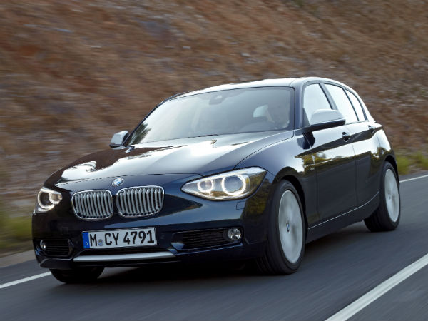 bmw india 1 series on rent