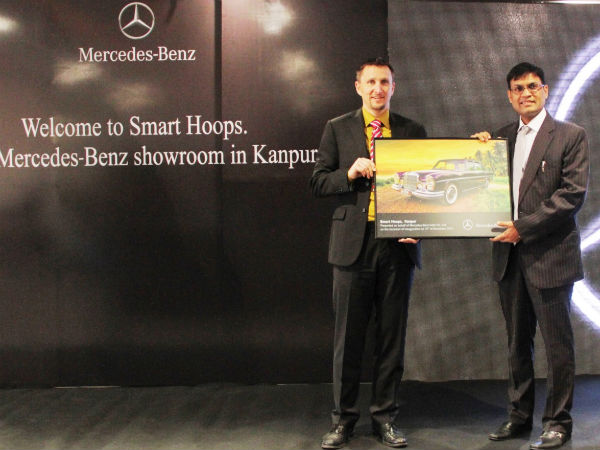 mercedes benz dealership kanpur