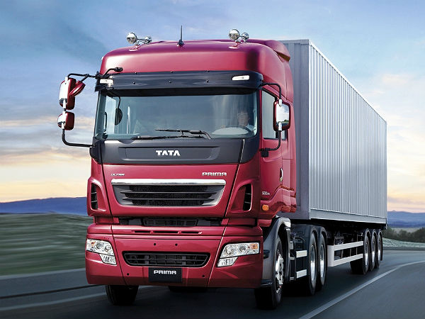 tata motors commercial vehicle export