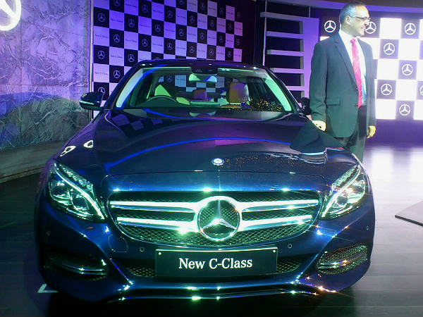 mercedes benz c class launch india