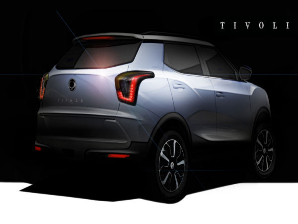 ssangyong s urban suv project x100 to be called tivoli drivespark news. Black Bedroom Furniture Sets. Home Design Ideas