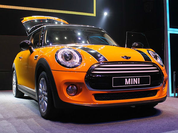 mini three door launch