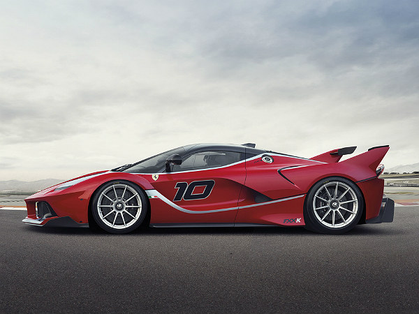 Ferrari FXX K: Side Profile