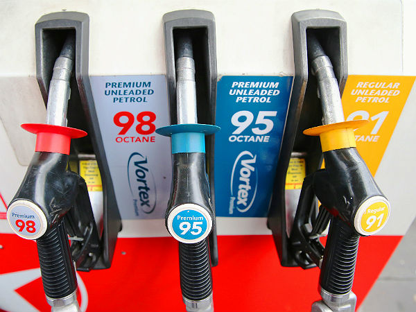 10. Using premium gasoline for vehicles recommended with regular gasoline makes no change in fuel economy: