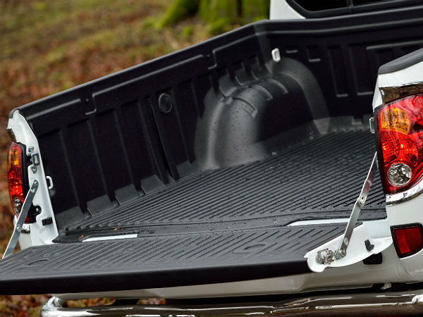 5. Driving a pickup truck with the tailgate down reduces drag: