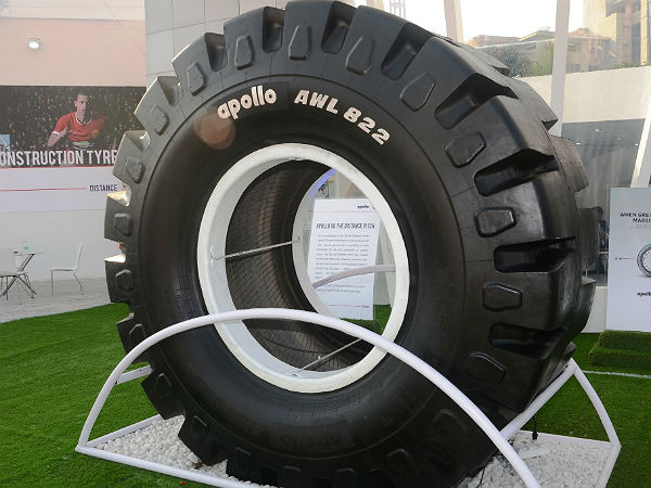 apollo largest tyre in india