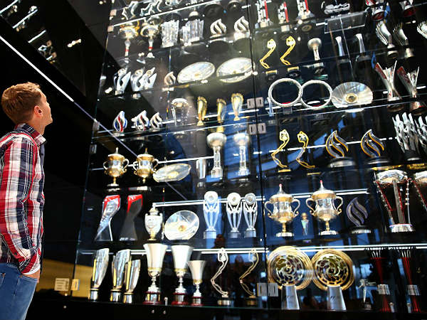 red bull formula one trophies