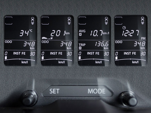 6. Multi-Information Display Modes