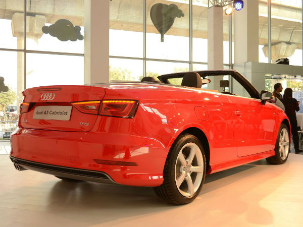 audi a3 cabriolet launched price specifications design features more drivespark news. Black Bedroom Furniture Sets. Home Design Ideas