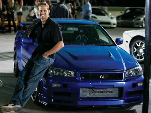 paul walker car collection