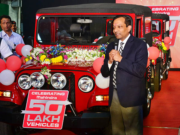 mahindra vehicle production